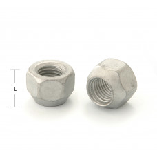M12x1.5x17 HEX 19 mm Conus Wheel nut open head