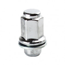 M12x1.5x47.5 HEX 21mm Flat Wheel nut