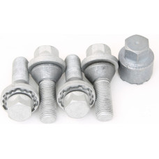 Genuine VOLVO Locking Bolts M14x1,5 32 HEX 19 mm Conus 60°