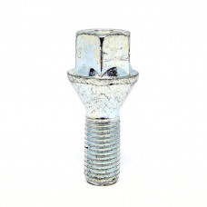 M12x1.25x26 HEX 17 mm Conus Wheel bolt