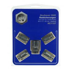 Nuts M12x1,5  HEX 19 mm / 21mm Conus 60°