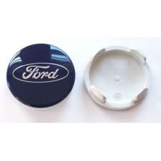 55.0mm FORD genuine wheel center cap (Dark blue)