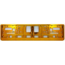 GOLD Licence plate holder