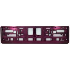 VIOLET Licence plate holder