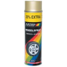 Gold wheel paint MOTIP spray (500ml)