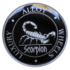 Scorpion 3D wheel cap stickers