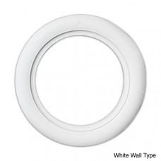 7 cm white walls  (for car)