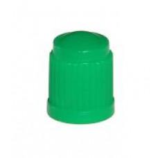 Valve cap plastic (green)