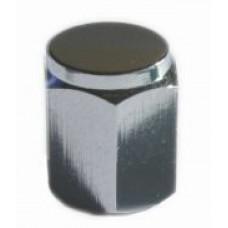 Valve cap metal (silver)