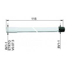 Valve extension plastic115 mm