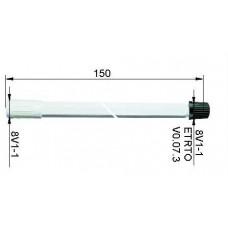 Valve extension plastic150 mm