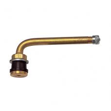 Truck tubeless valve Ø 16 x 114 mm ( curved) TR 573 C