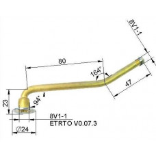 Valve VG8 127 mm (curved)