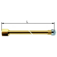 Valve extension metal 115 mm