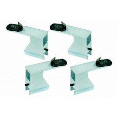 Clamping jaw adaptors for scooter tires