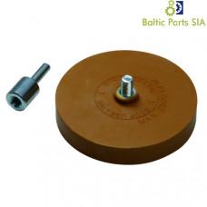 ALU disk cleaner rubber wheel